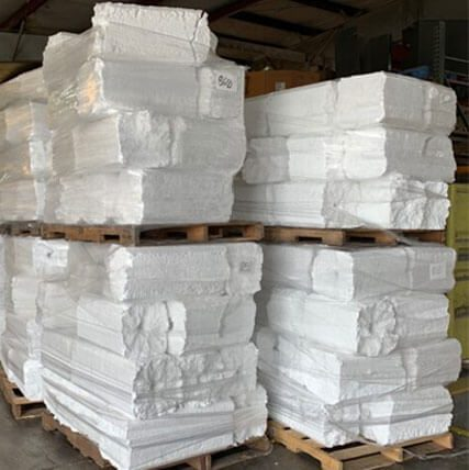 Let us recycle your EPS, Styrofoam, or Foam Plastic #6